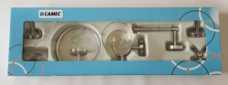 CAMEC 6 PEICE BATHROOM ACCESSORY SET - CHROME
