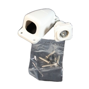 CAMEC CO-AXIAL SURFACE SOCKET 75 OHM - WHITE