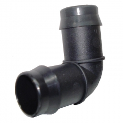 PLASTIC BARB ELBOW x 19MM TAILS