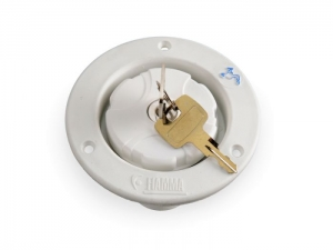 FIAMMA LOCKABLE WATER FILLER  WHITE