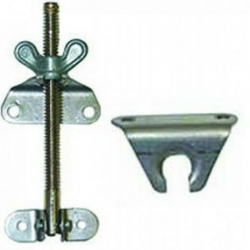 CAMEC ANTI RATTLE CATCH WITH PLATE 50MM