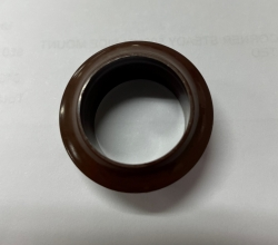 CAMEC 19MM ROSETTE BROWN - TO SUIT