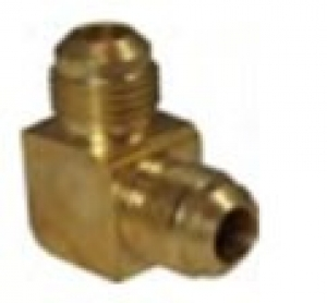 """BRASS NO.18 DOUBLE FLARE ELBOW  5/16"""""""