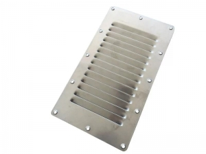CAMEC LOUVRE VENT STAINLESS STEEL SINGLE ROW 227H X 127W