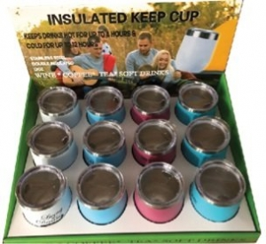 INSULATED KEEP CUP MIXED COLOURS