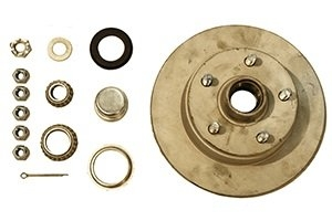 TROJAN  HUB KIT - FORD - GALVANISED -  SLIMLINE BEARINGS - MARINE SEAL
