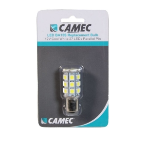 CAMEC 12V 27 LED REPLACEMENT BULB SINGLE CONTACT - COOL WHITE