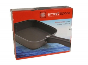 SMARTSPACE FRYPAN DETACHABLE HANDLE COMES WITH SILICONE MAT