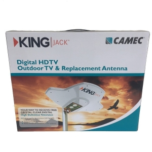 KING JACK DIGITAL HDTV ANT WHITE