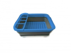 COLLAPSIBLE SINK DRAINER BLUE