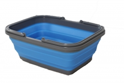 COLLAPSIBLE BASKET WITH HANDLES