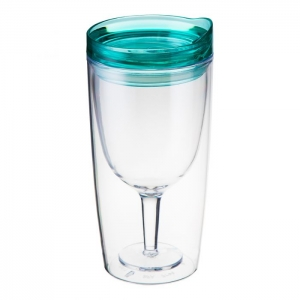 TRAVINO GREEN SPILL PROOF WINE SIPPY CUP