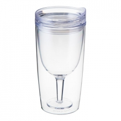 TRAVINO CLEAR SPILL PROOF WINE SIPPY CUP