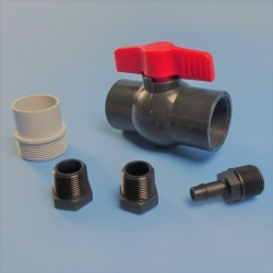 GREY WATER FITTINGS KIT SUITS TANK 050593