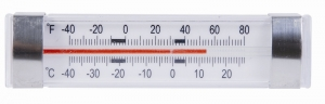 HORIZONTAL RV FRIDGE-FREEZER THERMOMETER