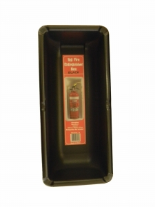 FIRE EXTINGUSIHER BOX - BLACK