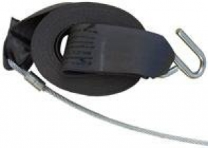 DUNBIER REPLACEMENT WINCH STRAP 4.5M X 50MM WITH WEBBINGWIRE TAIL