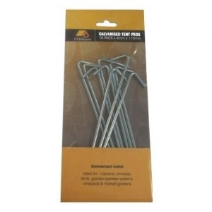 WIRE TENT PEG 175MM X 4MM GALV