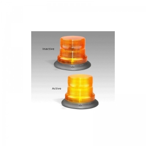 LED AUTOLAMPS 128 SERIES 11-48V STROBE BEACON FIXED MOUNT - AMBER