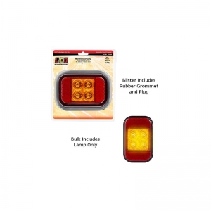 LED AUTOLAMPS 133 SERIES 12-24V INDICATOR LAMP WITH REFLEC WITH RUBBER GROMMET/P