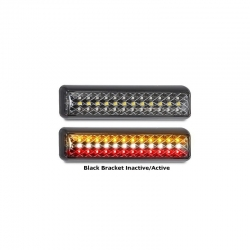 LED AUTOLAMPS 200 SERIES 12-24V LED COMBO LAMP STOP/TAIL IND/REVERSE - TWIN PACK