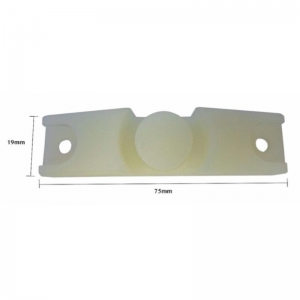 PLASTIC BED SADDLE TO SUIT JAYCO CAMPER 19 X 75MM