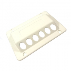 DOMETIC VENT COVER OUTER 3776 WHITE