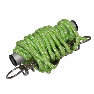 REFLECTIVE GLOW ROPE SPRUNG WITH ALUM HANDLE 3.5M