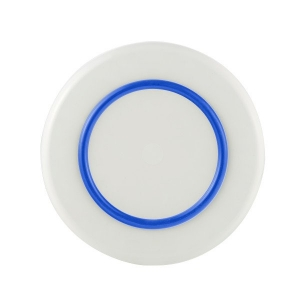 PALM SORONA MED PLATE WITH NAVY 21CM