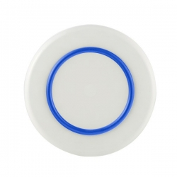 PALM SORONA LARGE PLATE WITH NAVY 25CM