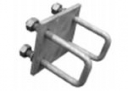 DUNBIER MOUNTING PLATES & UBOLTS 76 X 50MM - ROLLA-MATIC DOUBLE