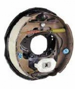 """AL-KO 12"""" OFFROAD ELECTRIC DRUM BRAKE BACKING PLATE - RIGHT HAND"""
