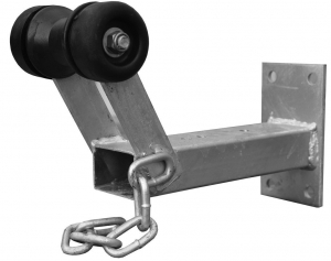DUNBIER TRAILER WINCH CARRIER SUITS 64 X 64MM SQUARE TUBE