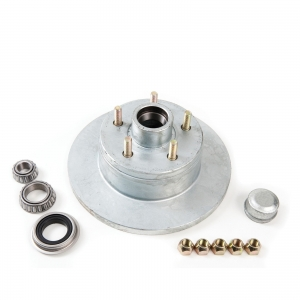 AL-KO DISC HUB - HT HOLDEN - GALV - WITH SLIMLINE BEARINGS - MARINE SEAL