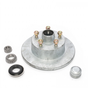 AL-KO DISC HUB - FORD - GALV - WITH LM BEARINGS - MARINE SEAL