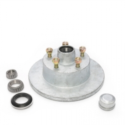 AL-KO DISC HUB - FORD - GALV - WITH SLIMLINE BEARINGS - MARINE SEAL