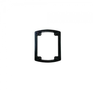 CLIPSAL MOUNTING FLANGE SUIT NEW STYLE INLET/OUTLET - BLACK