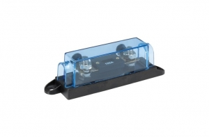 NARVA INLINE ANL FUSE HOLDER WITH TRANSPARENT COVER & 100A ANL FUSE