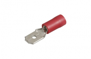 NARVA MALE BLADE TERMINAL RED 6.3MM