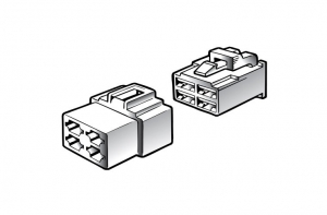 NARVA 4 WAY MALE QUICK CONNECTOR HOUSING - 2 PACK