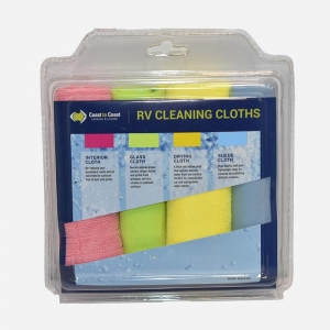 COAST CLEANING CLOTH 4 PK