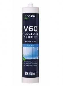 SILICONE V60 NON ACETIC - CLEAR
