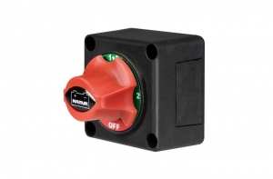 BATTERY MASTER SWITCH ROTARY 4 POSITIONS 300 AMPS