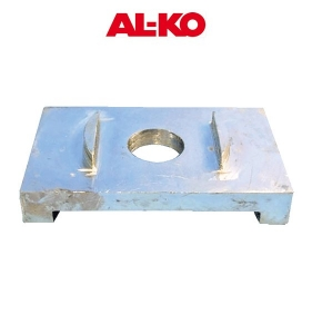 AKS ANTI ROTATION PLATE SUIT LUG TOW BAR 75MM WIDE