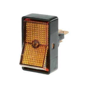 NARVA ILLUMINATED OFF/ON ROCKER SWITCH AMBER 16A AT 12V ONLY