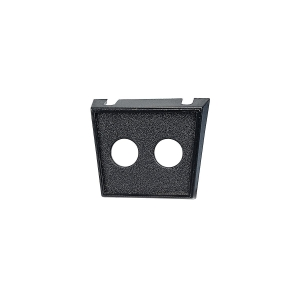 NARVA DUAL HOLE PLASTIC SWITCH PANEL 12.5MM OPENING