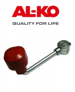 AL-KO JOCKEY WHEEL REPLACEMENT HANDLE C/W GRUB SCREW