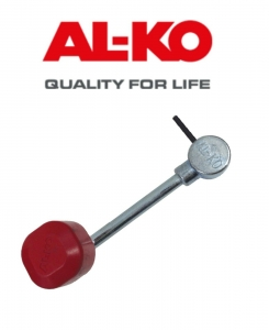 "AL-KO JOCKEY WHEEL REPLACEMENT HANDLE 6/8"" PIN TYPE"