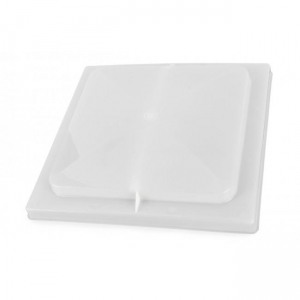 """REPLACEMENT PLASTIC LID, NON POWERED - SUITS OLD STYLE JENSEN 14"""" X 14"""" VENT"""