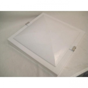 """REPLACEMENT PLASTIC LID, NON-POWERED. SUITS -  OLD STYLE ELIXIR 14"""" X 14"""" VENT"""